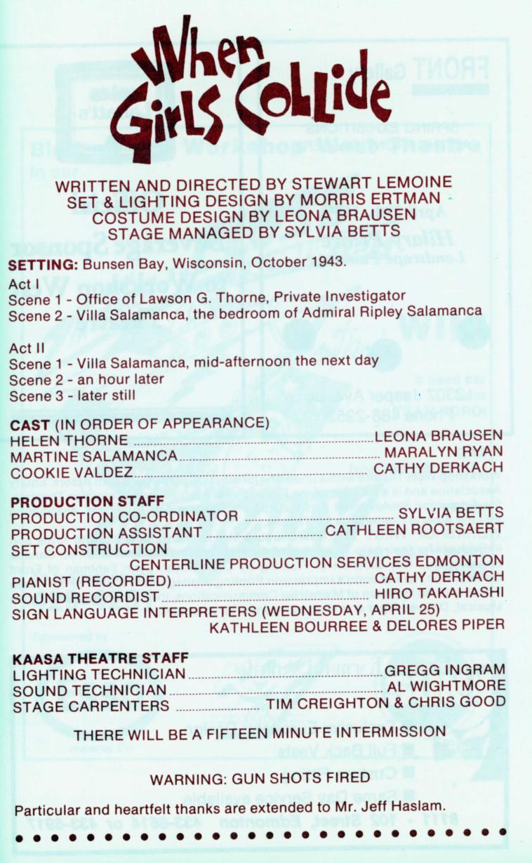 When Girls Collide (April, 1989)-Program Information-page-001.jpg
