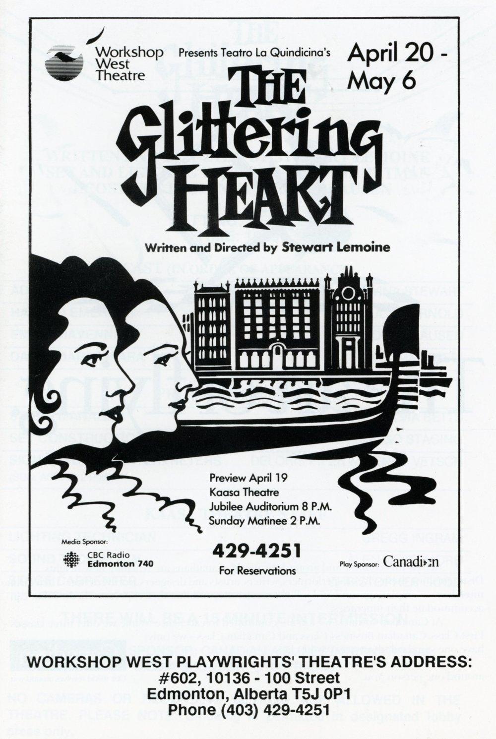 The Glittering Heart (April, 1990)-Program Cover JPEG.jpg