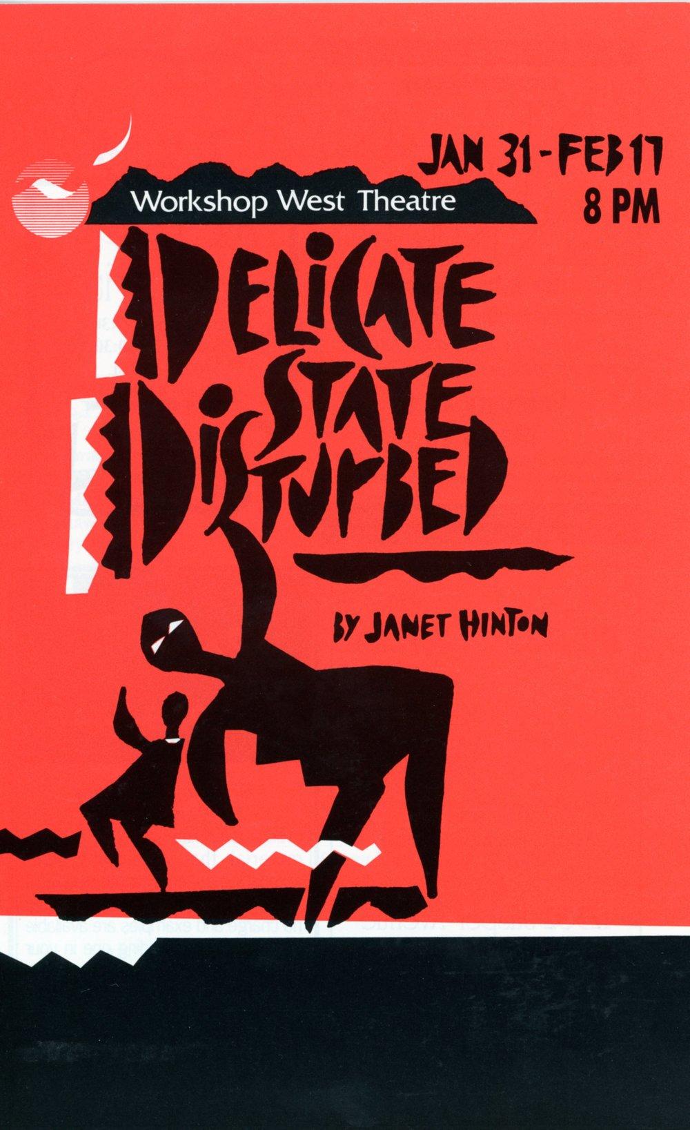 Delicate State Distrubed (January, 1991)-Program Cover JPEG.jpg
