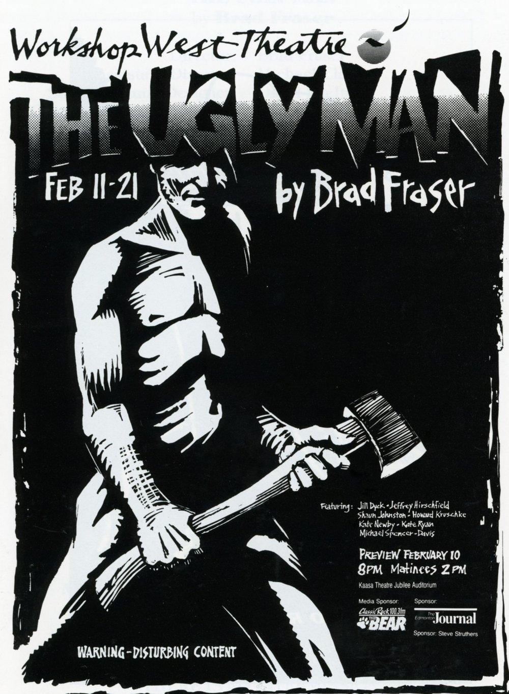 The Ugly Man (Febuary, 1993)-Program Cover JPEG.jpg