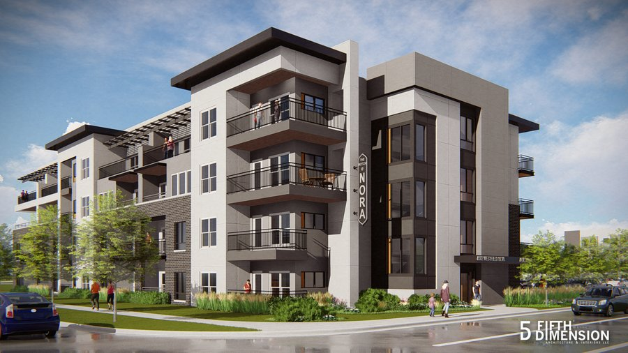 COMING SOON! - With multiple projects currently being completed there will be many more places to view our work!Rendering is of Notch at Nora Apartments through TWG to be completed in 2019.