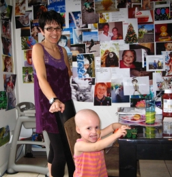 This is Tess and her mum Jo, sadly Tess lost her fight with neuroblastoma and we struggle with that on a regular basis. Jo continues to work tirelessly to raise money for research into the cancer that took beautiful Tess from us. For more information contact    www.neuroblastoma.org.au/