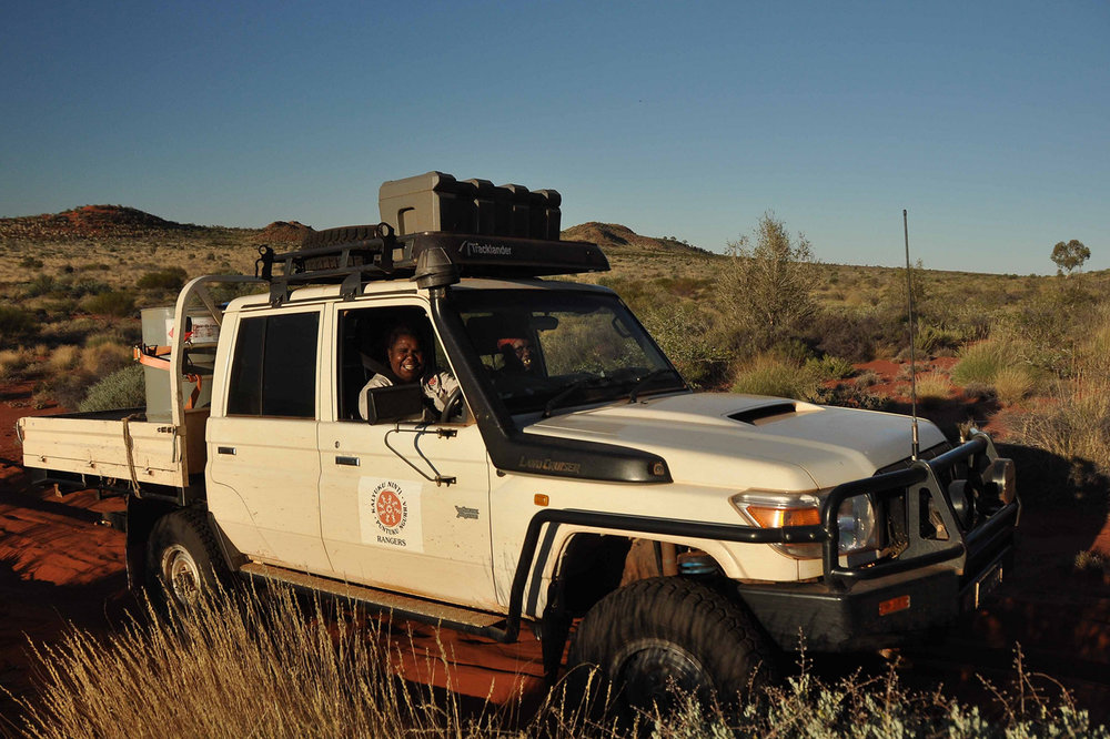 A Martu Ranger on country