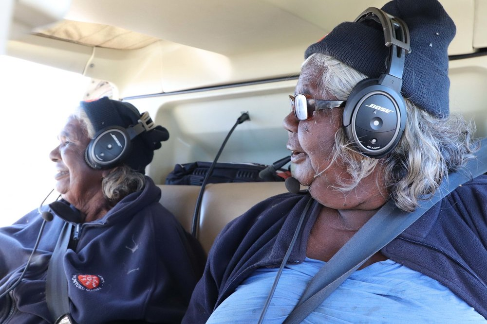 Martu helicopter mapping