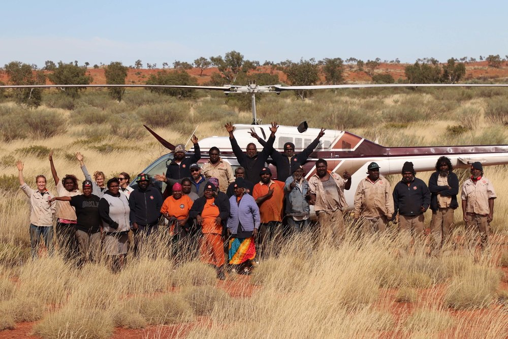 How Martu manage the land -