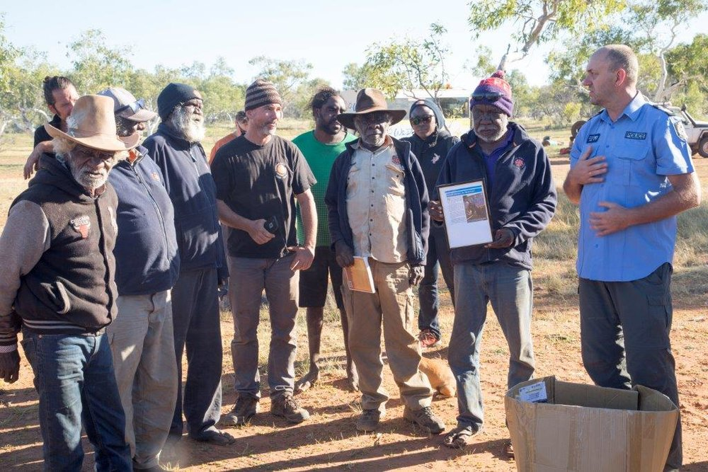 Martu leadership program -