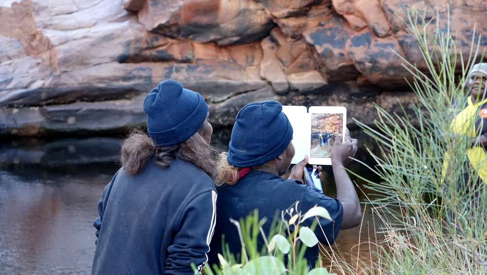 Recording traditional knowledge and stories -