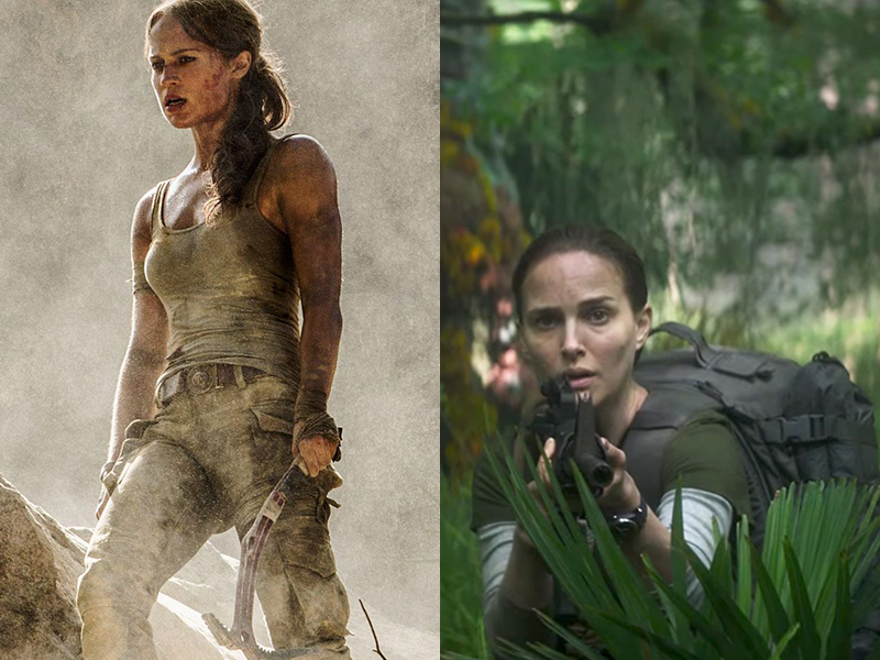 Episode 25: Tomb Raider + Annihilation