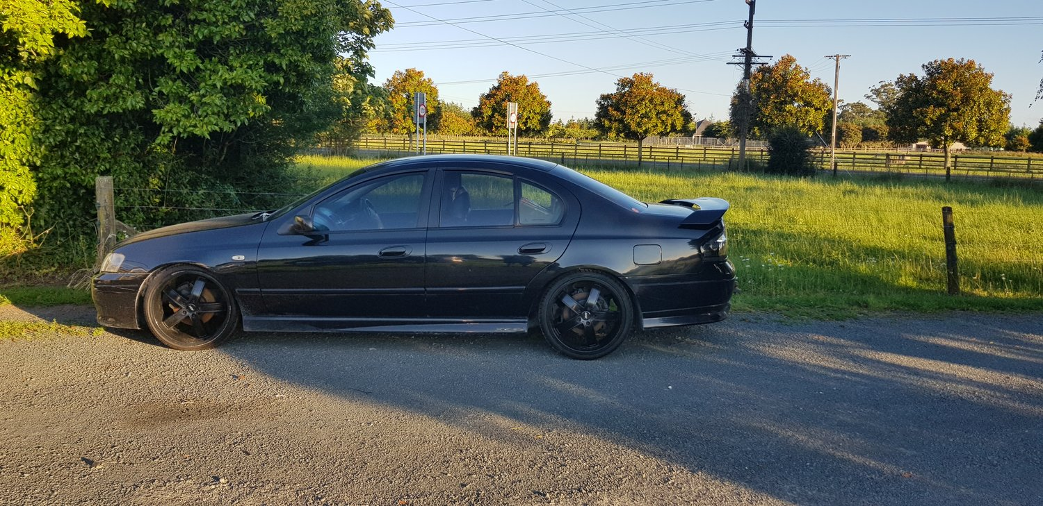 BA XR6 TURBO GROUND BREAKING ENGINE AND TRANSMISSION MODIFICATIONS