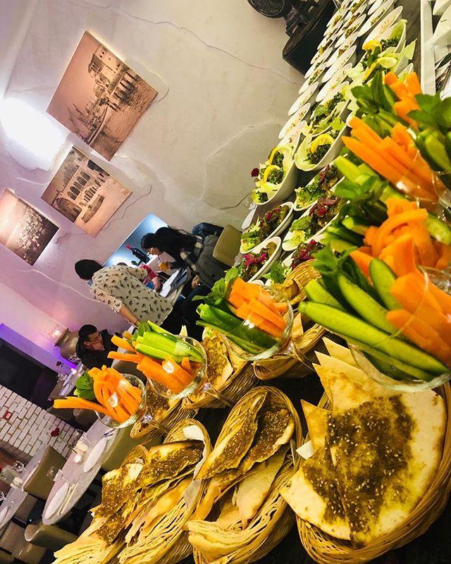 Start it right! 😉 . .  Few Tables left for our unforgettable Saturday Nights! 😍 What are you waiting?  #beitbeirut #beitbeirutwoking #tastingmenu #preparation #ready #starters #veggie #coldmezza #delicious #woking #surrey #nighttobe #londontoprestaurant #lebanesefood #lebanesewine #restaurantandbar #london #londonfood #mediterraneanfood #bellydancer #dj #entertainment #weekend #saturday #saturdaynight