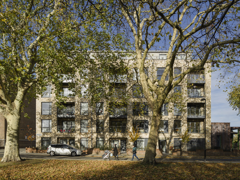 Gascoyne Road    Mixed-Use, Residential + Community Centre - Hackney