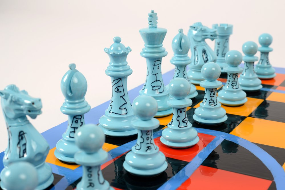 "THIERRY NOIR: ""Chess Noir"""