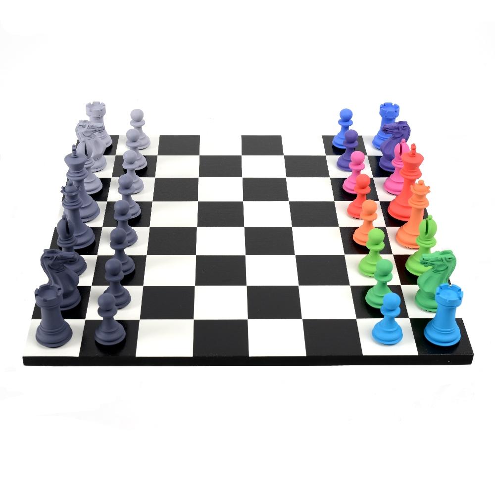"TOM HACKNEY: ""Retinal Chess Set"""