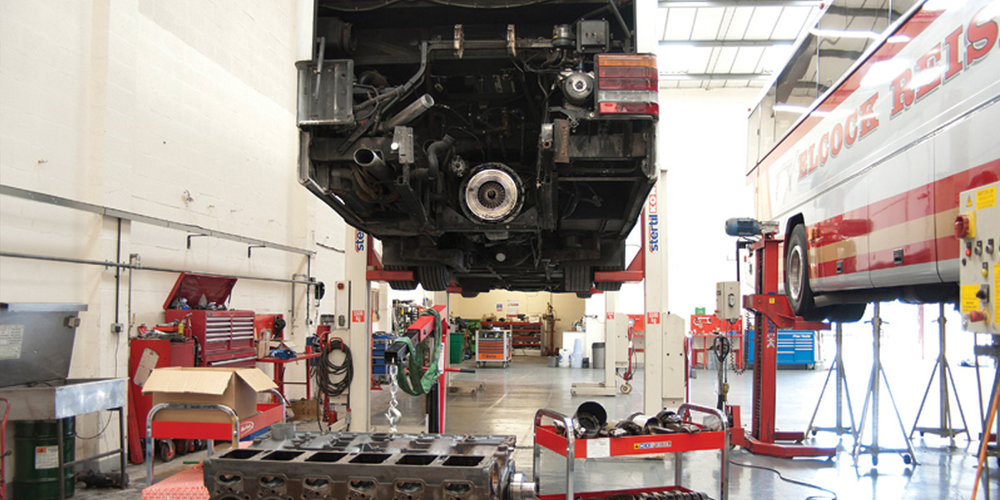 Maintenance - RWT Commercial Services are able to carry out your maintenance and service programme: we also offer full workshop facilities which enable us to carry out engine, gearbox repairs, brake relines etc.