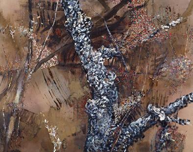 Autumn Spinney  1983-1992, 242 x 301 cm