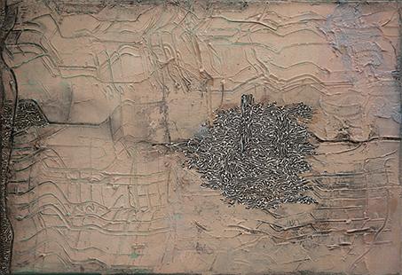 Parched Riverbed  2004-6, 30 x 45 cm
