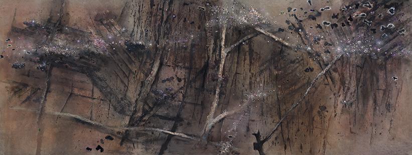 Symphoricarpus  1983-2011, 173 x 458 cm