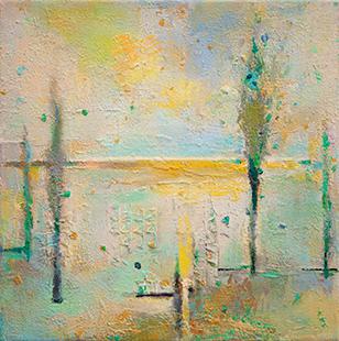 Slim Trees  2012-15, 35 x 35 cm
