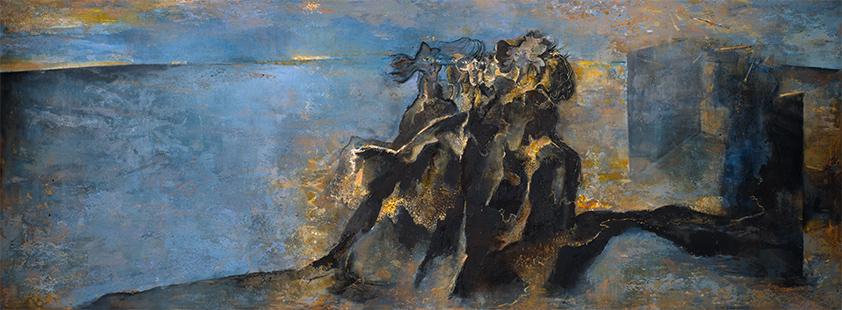 Reverie I  1989-90, 183 x 307 cm (The Royal West Of England Academy)