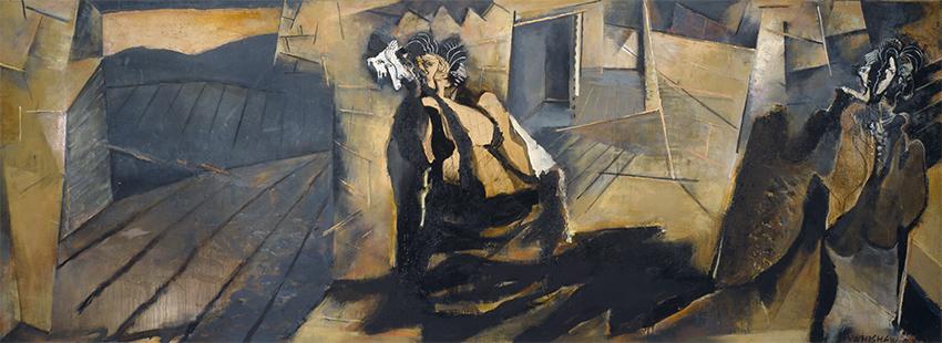 Bujalcayado I  1988-1992, 168 x 457 cm