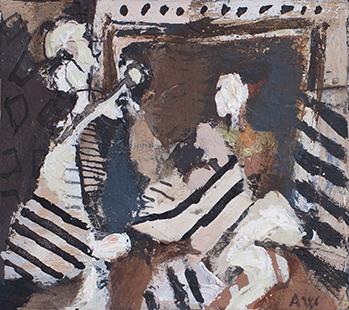 From Las Meninas  1985-1994, 14 x 16 cm