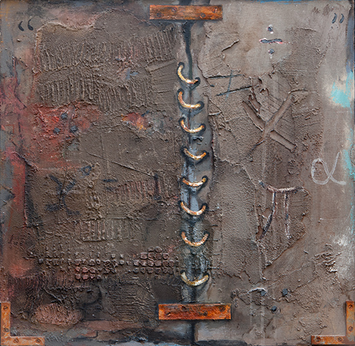 Memory Block  1997-9, 61 x 62 cm