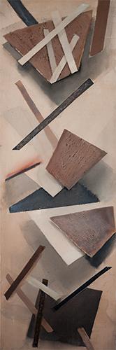 Formation IV  1997-8, 153 x 51 cm