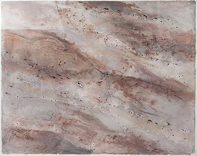 Seepage  1997-2002, 84 x 97 cm
