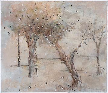 Treeness II  2012-14, 42 x 48 cm