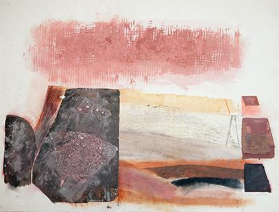 Towards The Horizon  1974-5, 56 x 75 cm