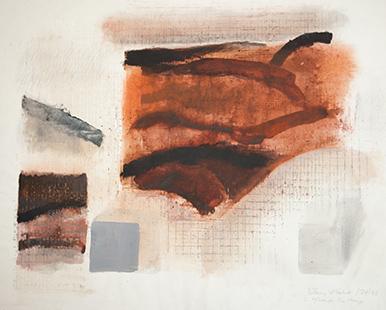 Towards The Horizon II  1974-5, 56 x 71 cm