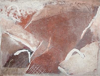 Hillscape  1977, 56 x 71 cm