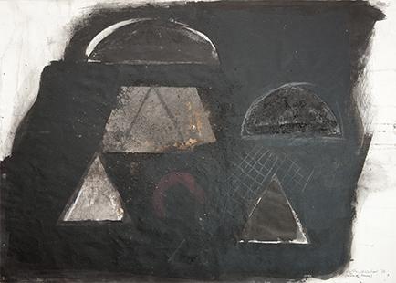 Towards Sunrise  1976, 56 x 75.5 cm