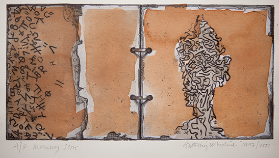 Memory Store  1997-2001, 15 x 29 cm, hand tinted digital print