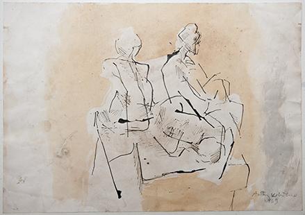 Untitled  1969, 29.5 x 42 cm