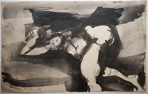Untitled  1969, 27.5 x 43 cm