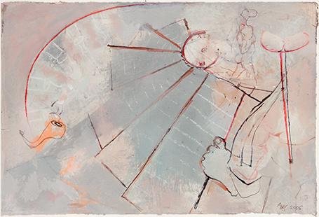Tristram Shandy Alongside  2005, 28 x 41 cm