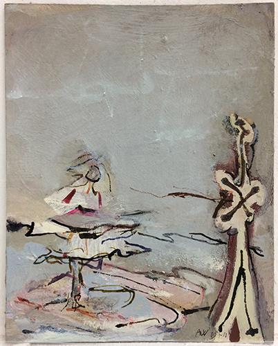Puddle Dance  2008-11, 25.5 x 20.5 cm