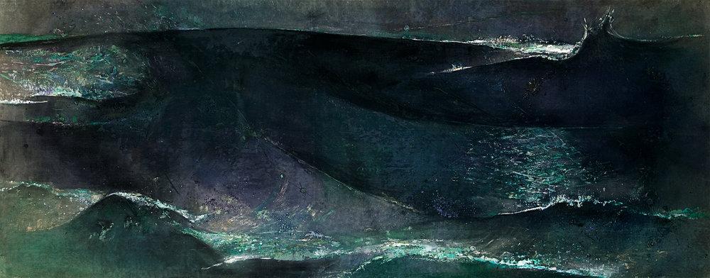 Swell  1995, 173 x 457 cm