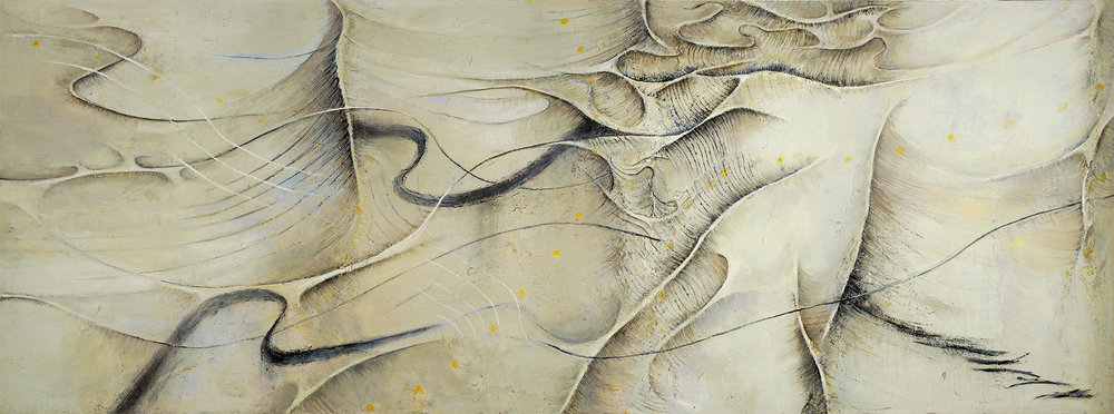 Crosscurrents  2001-03, 173 x 457 cm