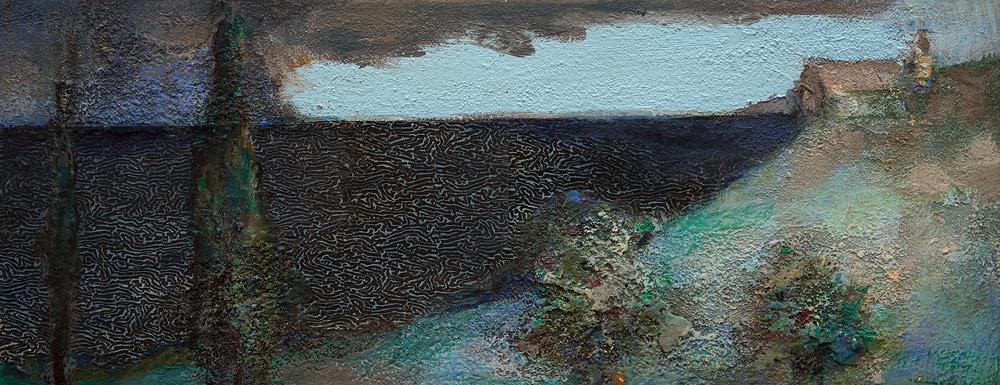 Seashore  2003-15, 20 x 51 cm
