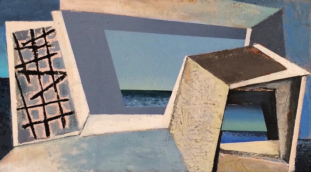 Window On To The Sea  1992-96, c. 30 x 50 cm