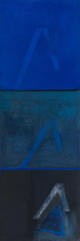Still Night Sea II  1975-2011, 229 x 75 cm