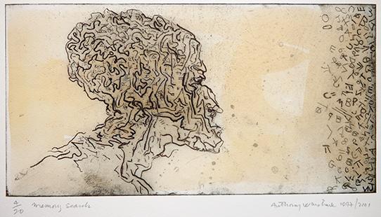 Memory Search  1997-2001, 18 x 34.5 cm