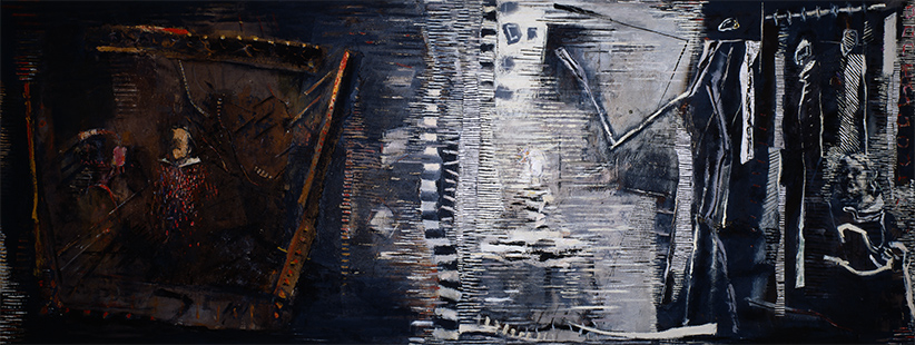 Reflections II  1984-6,172 x 457 cm