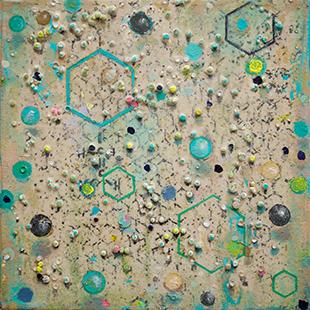 Polymer I  2002-4, 31 x 31 cm