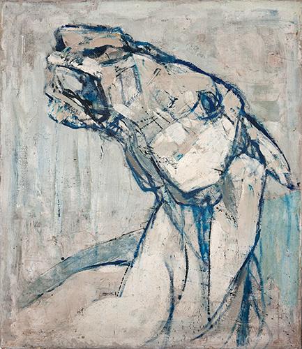 Horse's Head  1954-55, 97 x 84 cm, oil on canvas