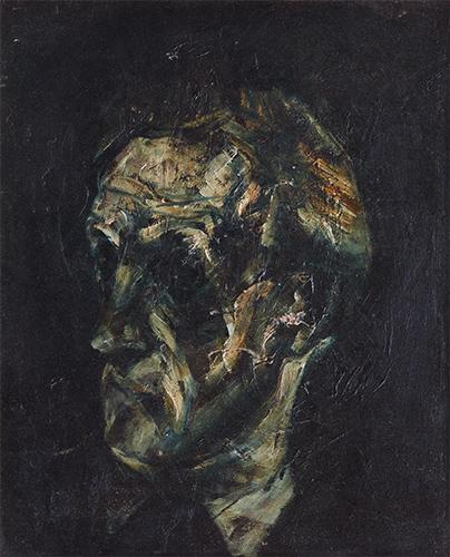 Portrait Of David Williams  1956, 54 x 45 cm, oil on canvas