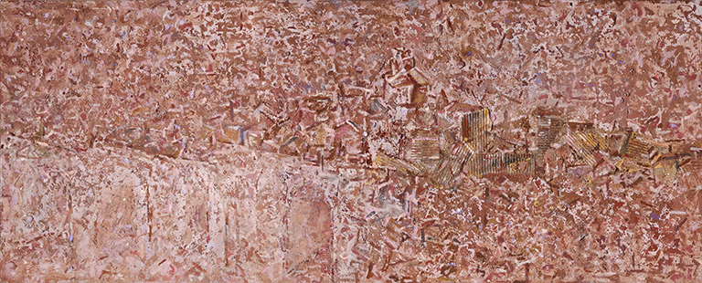 Appearance II Puente De Congosto  1995-2008, 71 x 173 cm