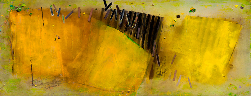 Summer Field  1981-2, 168 x 458 cm